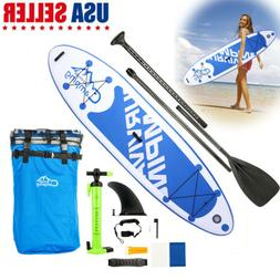 """10'10"""" Adult Inflatable SUP Stand Up Paddle Board Surfboard"""