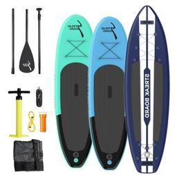 10/11' Inflatable Stand Up Paddle Board SUP Surfboard with C