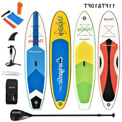 10'/11' Inflatable Stand up Paddle Board SUP Surfboard Adjus