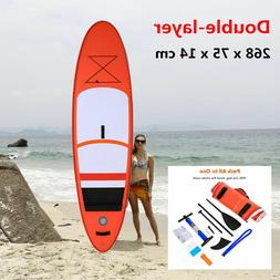 10'/12' Inflatable SUP Stand up Paddle Board Surfboard Adjus