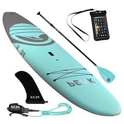 Peak 10'5 Soft Top Aqua Stand Up Paddle Board