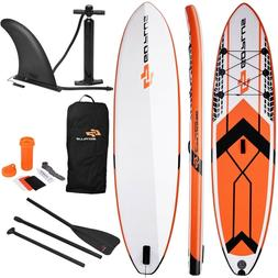 Goplus 10.5' SUP Inflatable Stand up Paddle Board w/ Adjusta