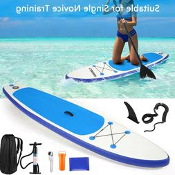 10.5ft Inflatable Stand Up Paddle Boards Surfboard with Comp