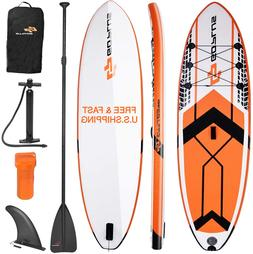 10 6 inflatable stand up paddle board