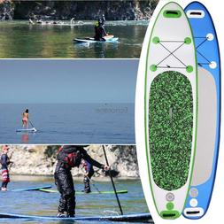 "10'6"" Inflatable Stand Up Paddleboard ISUP w/ Paddle+Travel"