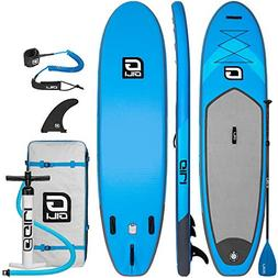 GILI 10'6 Inflatable Stand Up Paddle Board Package : Include