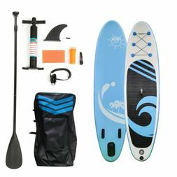 """10'6"""" SUP Inflatable Paddle Board Stand UP Surfboard Surf Pa"""