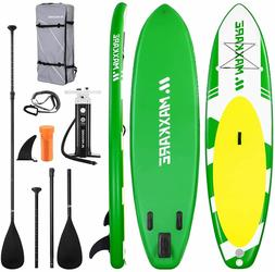 Inflatable 10ft Stand Up Paddle Board with Premium SUP Acces