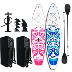 "10'6x33""x6"" Inflatable SUP Stand Up Paddle Board w/Ad Paddle"