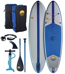 """Sunset 10'4 x 32"""" x 6"""" All Around Inflatable Stand Up Paddle"""