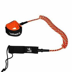 10 'Coiled  Leash Surfboard Leash Stand up Paddle Board Leg