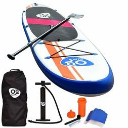 10 Foot Inflatable Stand Up Paddle Board SUP w/ Fin Adjustab