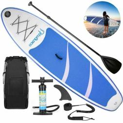10 Foot Non-Slip Air Inflatable Stand Up Paddle Board With S
