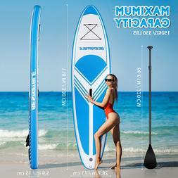 10'ft Inflatable Paddle Board Stand Paddleboard & Accessorie