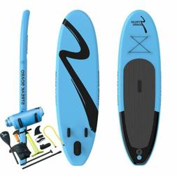 10 FT Inflatable Stand Up Paddle Board Surfing SUP Boards No