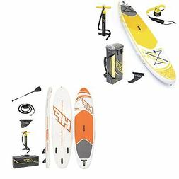Bestway 10 Ft Paddle Board & Bestway 9 Ft Hydro Force Inflat