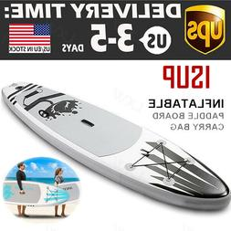 """ANCHEER 10' Inflatable Stand Up Paddle Board 6"""" Thick SUP Su"""