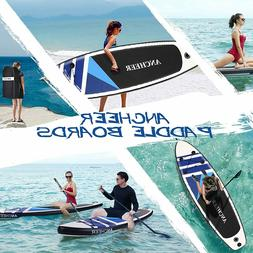 10' Inflatable Stand Up Paddle Board SUP Surfboard Non-Slip