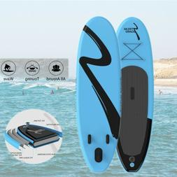 10' Inflatable Stand Up Paddle Board SUP Surfboard w/ Comple