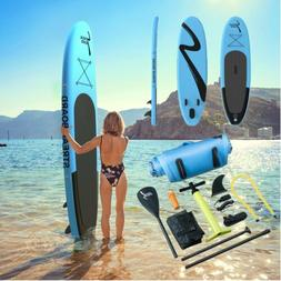10'Inflatable Stand Up PaddleBoard Surfing SUP Boards Non-sl