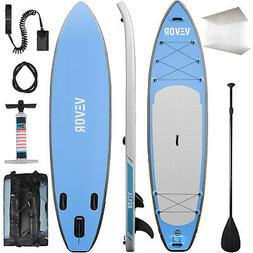 10'  Inflatable SUP Stand up Paddle Board Surfboard Adjustab