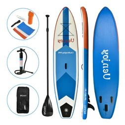 10' Inflatable SUP Stand up Paddle Board Surfboard Adjustabl
