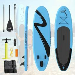 """10'x30""""x 6"""" Inflatable Stand Up Paddle Board Kayak All Level"""