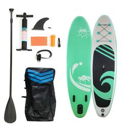 """10ft 6"""" Thick Inflatable SUP Paddle Board Stand Up Paddleboa"""