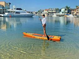10ft 6in Inflatable Stand Up Paddle Board 10'6 SUP Kit - 1-Y