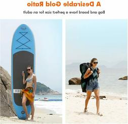 10ft Inflatable Stand Up Paddle Board with Non-Slip Deck, iS