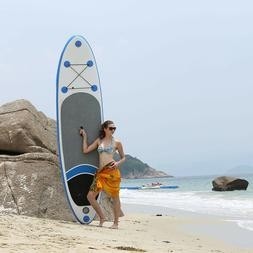10ft Inflatable Stand Up Paddle Board iSUP Surfboard w/ Adju