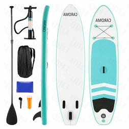 CAROMA 10ft Inflatable Stand Up Paddle Board iSUP Adjustable