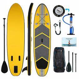 ANCHEER 10FT Inflatable Stand Up Paddle Board iSUP w/ Adjust