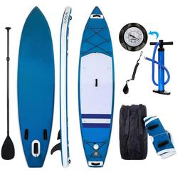10ft Inflatable Stand Up Paddle Board, iSUP Paddleboard Surf