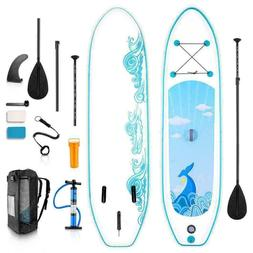Caroma10ft Inflatable Stand Up Paddle Board iSUP with Adjust