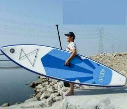 10ft Inflatable Stand Up Paddle Board SUP Surfboard with com