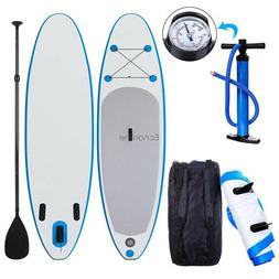 10ft ISUP Stand Up Paddle Board Inflatable PaddleBoard w/ BA