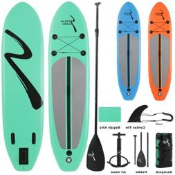 10FT Non-Slip Inflatable SUP Surfboard Stand Up Paddle Board