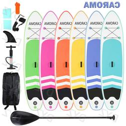 CAROMA 10FT Portable Surfboard Inflatable Stand Up Anti-slip