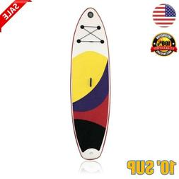 10ft Surf Board Inflatable SUP Stand Up Paddle Board w/ Acce