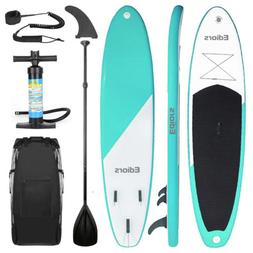 10ft Surf Board Inflatable SUP Stand Up Paddle Board w/Acces