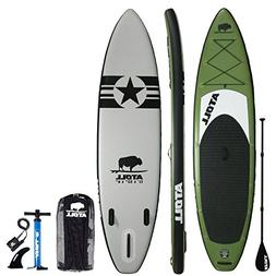 "Atoll 11'0"" Foot Inflatable Stand Up Paddle Board,  ISUP, Br"