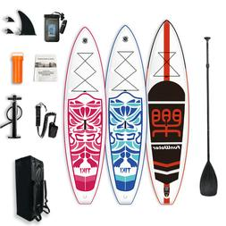 11'/10'6'' Inflatable Stand up paddle Board SUP Board ISUP w