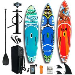 11'6''/10'6'' Inflatable Stand up paddle Board SUP Board ISU
