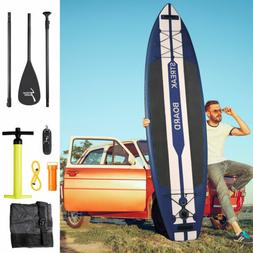 11 ft Inflatable Stand Up Paddle Board SUP Non-slip DeckISUP