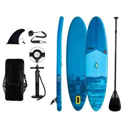 """11' Inflatable Paddle Board 6"""" Thick Complete Package US S"""