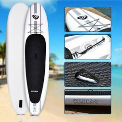 11' Inflatable Stand Up Paddle Board SUP w/ Adjustable Paddl