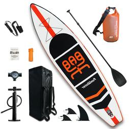 11' Inflatable Stand Up Paddle Board Surfboard SUP Paddelboa