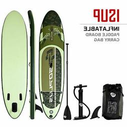 11' Inflatable Stand up Paddle Board Surfboard SUP W/ Bag Ad