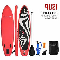 11' Inflatable Stand up Paddle Board Surfboard SUP W/ Bag